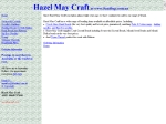 View More Information on Hazel May Craft