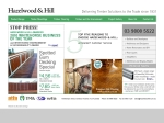 View More Information on Hazelwood & Hill Pty Ltd