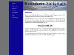 View More Information on Hennikers Solicitors