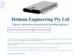 View More Information on Holman Engineering Pty Ltd, Thornleigh