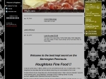 View More Information on Houghton's Fine Food