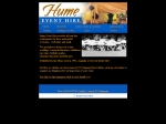 View More Information on Hume Event Hire