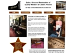 View More Information on Hunter's Pianoworks