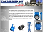 View More Information on Hy-Performance Valves