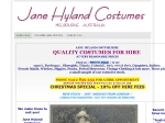 View More Information on Jane Hyland Costumes