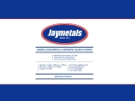 View More Information on Jaymetals