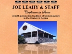 View More Information on Joe Leahy And Staff