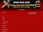View More Information on Xceed Auto Care, West Footscray
