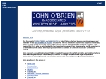 View More Information on John O'Brien & Associates Whitehorse Lawyers