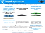 View More Information on Kayaks Plus Pty Ltd