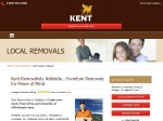 View More Information on Kent Removals & Storage, Adelaide