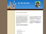 View More Information on Dr Tim Kirchler