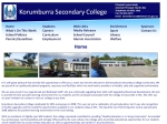 View More Information on Korumburra Secondary College