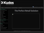 View More Information on Kudos Solutions