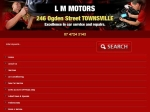 View More Information on L.M. Motors, Townsville