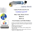 View More Information on Laptop World (Aust) Pty Ltd