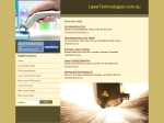 View More Information on Laser Technologies Pty. Ltd.