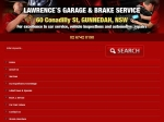View More Information on Lawrence's Garage & Brake Service, Gunnedah