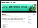 View More Information on Lawrie Commercial Diving Pty Ltd