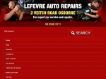 View More Information on Lefevre Auto Repairs, Osborne