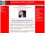 View More Information on Leading Edge Careers