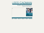 View More Information on Lees Cadman Cost Management