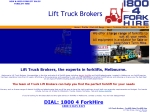 View More Information on Lift Truck Brokers