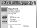 View More Information on Long Engineering (Aust) Pty Ltd