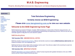 View More Information on M.A.B. Engineering