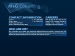 View More Information on M+G Consulting