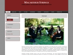 View More Information on Macarthur String Quartet
