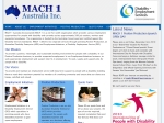 View More Information on MACH I Australia Inc