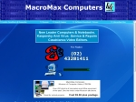 View More Information on Macromax Computers