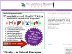 View More Information on New Leaf Natural Therapies