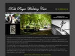 View More Information on Magnolia Rolls-Royce Wedding Cars