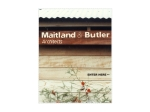 View More Information on Maitland & Butler Pty Ltd