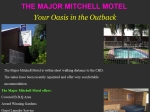 View More Information on Major Mitchell Motel Bourke