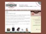 View More Information on Mallabones Luggage & Leather