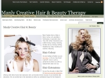 View More Information on Manly Creative Hair & Beauty