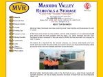 View More Information on Manning Valley Removals & Storage, Taree