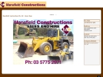 View More Information on Mansfield Machinery Sales