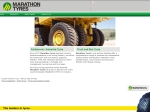 View More Information on Marathon Tyres, Sandgate