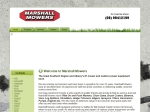 View More Information on Marshall Mowers