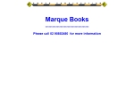 View More Information on Marque Books