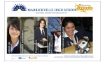 View More Information on Marrickville High School