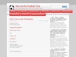 View More Information on Marrickville Soccer Club