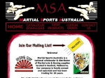 View More Information on Martial Sports Australia