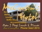 View More Information on Mccartins Hotel