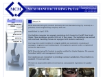 View More Information on MCM Manufacturing Pty Ltd