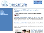 View More Information on Mercantile Collection Services Pty Ltd